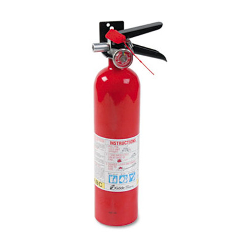 Kidde ProLine Pro 2 5 MP Fire Extinguisher  1 A  10 B C  100psi  15h x 3 25 dia  2 6lb (KDD 466227)
