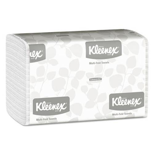 Kleenex Multi-Fold Paper Towels  9 1 5 x 9 2 5  White  150 Pack  16 Packs Carton (KCC 01890)