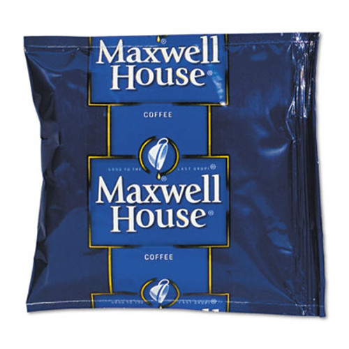 Maxwell House Coffee, Regular Ground, 1.5oz Pack, 42/Carton (FVS 866150)