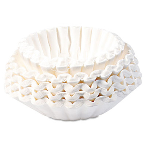 BUNN Flat Bottom Coffee Filters  12-Cup Size  250 Pack (BUNBCF250)