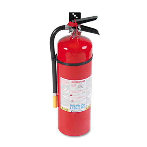 Kidde ProLine Pro 10MP Fire Extinguisher, 4 A, 60 B:C, 195psi, 19.52h x 5.21 dia, 10lb (KDD 466204)