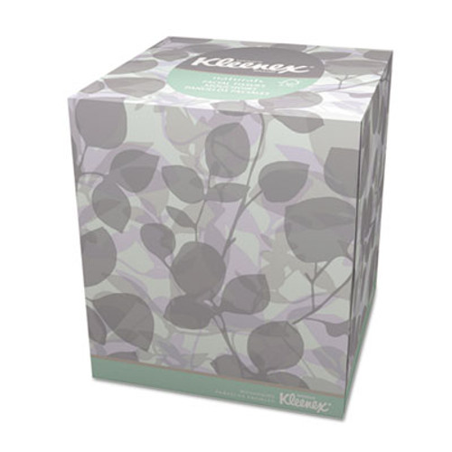 Kleenex Naturals Facial Tissue, 2-Ply, White, 95/Box (KCC 21272)