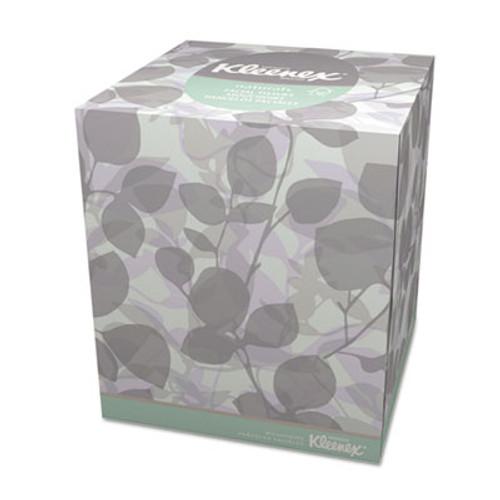 Kleenex Naturals Facial Tissue  2-Ply  White  95 Sheets Box (KCC 21272)