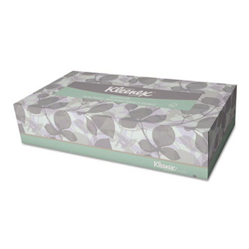 Kleenex Naturals Facial Tissue, 2-Ply, White, 125/Box (KCC 21601)