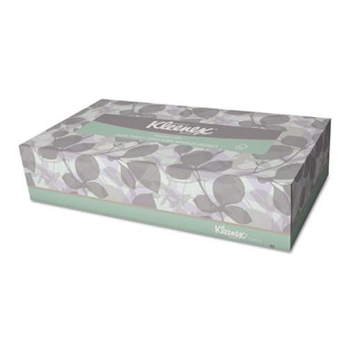 Kleenex Naturals Facial Tissue  2-Ply  White  125 Sheets Box (KCC 21601)
