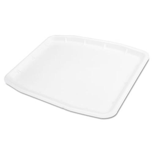 Genpak Supermarket Tray  Foam  12 x 15 75 x  75  White  100 Carton (GNP 11216WH)
