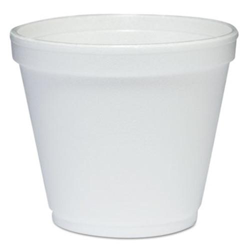 Dart Food Containers  Foam  8oz  White  1000 Carton (DCC 8SJ12)