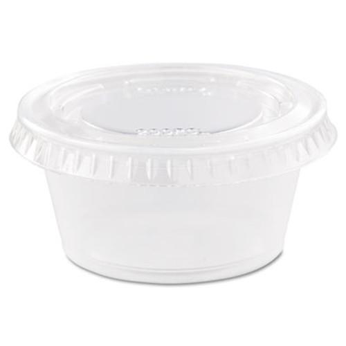 Dart Conex Complements Portion Medicine Cups  2oz  Clear  125 Bag  20 Bags Carton (DCC 200PC)