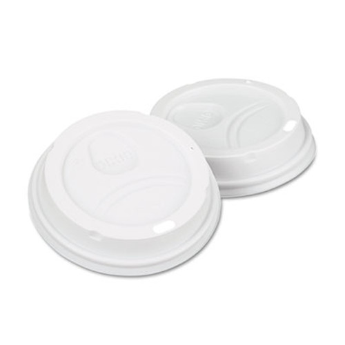 Dixie White Dome Lid Fits 10-16oz Perfectouch Cups  12-20oz Hot Cups  WiseSize  500 CT (DIX 9542500DX)