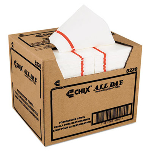 Chix Foodservice Towels, 12 x 21, 200/Carton (CHI 8230)