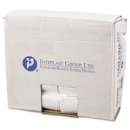 Inteplast Group Commercial Can Liners, Perforated Roll, 16gal, 24 x 33, Natural, 1000/Carton (IBS EC243306N)