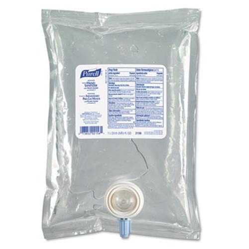 PURELL Advanced Instant Hand Sanitizer NXT Refill, 1000mL, 4/Carton (GOJ 2156-04)