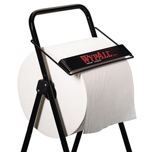 WypAll Jumbo Roll Dispenser  16 4 5w x 18 1 2d x 33h  Black (KCC 80596)
