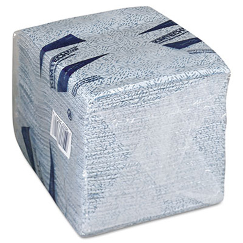WypAll Oil  Grease and Ink Cloths  1 4 Fold  12 1 2 x 12  Blue  66 Box  8 Boxes Carton (KCC 33560)