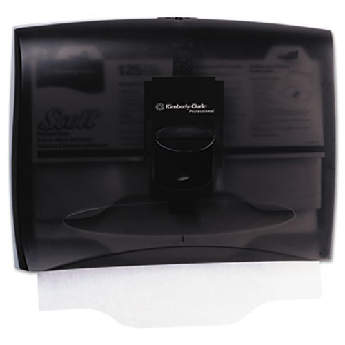 Scott Personal Seat Toilet Seat Cover Dispenser  17 5 x 2 25 x 13 25  Smoke Gray (KCC 09506)