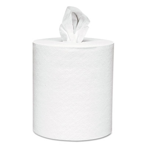 Scott Center-Pull Towels, 8 x 15, White, 250 Sheets/Roll, 6 Rolls/Carton (KCC 01061)