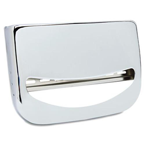 Boardwalk Toilet Seat Cover Dispenser  16 x 3 x 11 1 2  Chrome (BWK KD200)