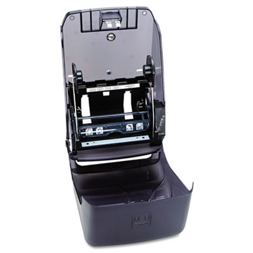 San Jamar Electronic Touchless Roll Towel Dispenser  11 3 4 x 9 x 15 1 2  Black (SAN T1390TBK)