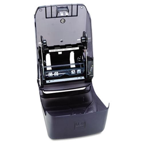 San Jamar Electronic Touchless Roll Towel Dispenser  11 3 4 x 9 x 15 1 2  Black (SAN T1390TBK)