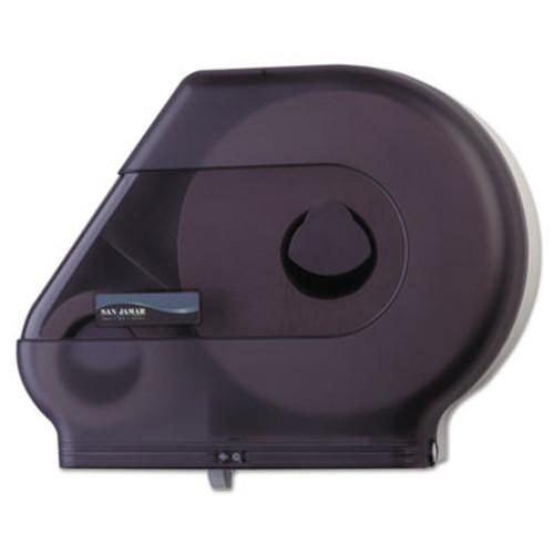 """San Jamar Quantum 12""""-13"""" JBT Dispenser, Classic, 22 x 5 7/8 x 16 1/2, Black Pearl (SAN R6500TBK)"""