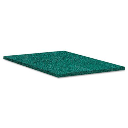 Boardwalk Heavy-Duty Scour Pad  Green  6 x 9  15 Carton (PAD 186)
