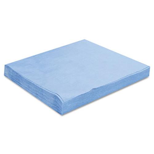 HOSPECO Sontara EC Engineered Cloths  12 x 12  Blue  100 Pack  10 Packs Carton (HOS PR811)