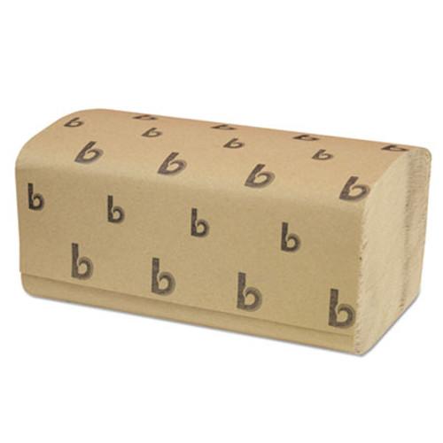 Boardwalk Singlefold Paper Towels  Natural  9 x 9 9 20  250 Pack  16 Packs Carton (BWK 6210)
