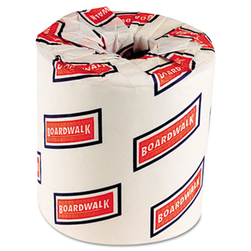 Boardwalk Two-Ply Toilet Tissue, White, 4 1/2 x 4 1/2 Sheet, 500 Sheets/Roll, 96 Rolls/CT (BWK 6155)
