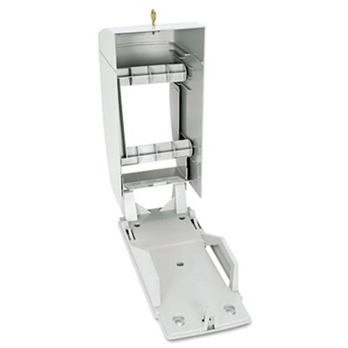 Bobrick Matrix Series Two-Roll Tissue Dispenser  6 1 4w x 6 7 8d x 13 1 2h  Gray (BOB 5288)