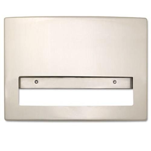 Bobrick Toilet Seat Cover Dispenser  15 3 4 x 2 1 4 x 11 1 4  Stainless Steel (BOB 4221)