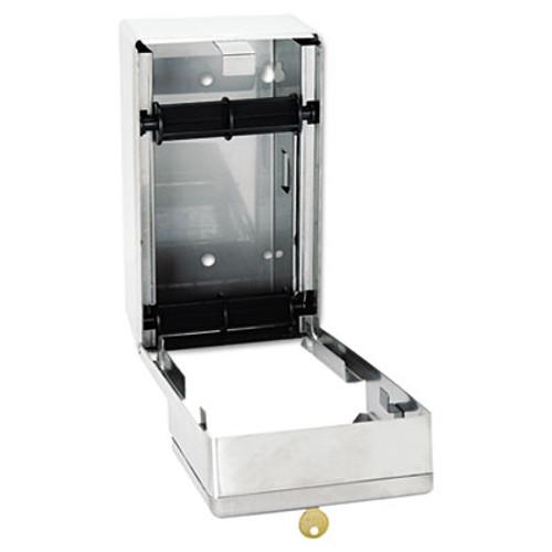 Bobrick Stainless Steel 2-Roll Tissue Dispenser  6 1 16 x 5 15 16 x 11  Stainless Steel (BOB 2888)