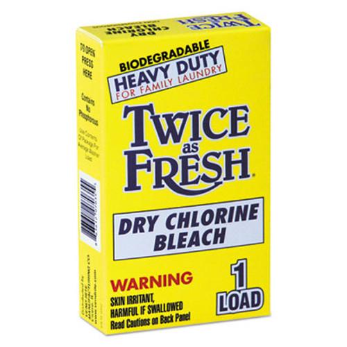 Twice as Fresh Heavy Duty Coin-Vend Powdered Chlorine Bleach  1 load  100 Carton (VEN 2979646)