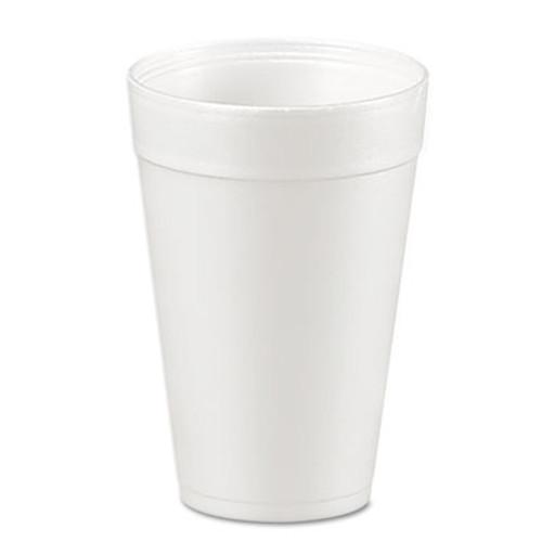 Dart Foam Drink Cups  32oz  White  25 Bag  20 Bags Carton (DCC 32TJ32)