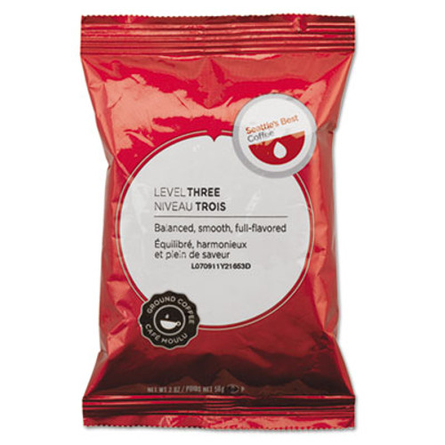 Seattle's Best Premeasured Coffee Packs  Portside Blend  2 oz Packet  18 Box (SEA11008558)