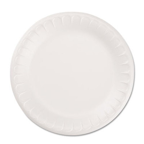 Hefty Soak Proof Tableware  Foam Plates  8 7 8  dia  100 Pack (PAC D28100)