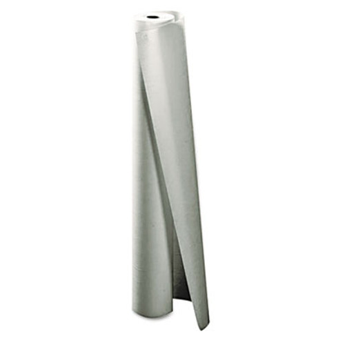 Little Rapids Caprice Paper Tablecover  Roll  40  x 300ft  White (LRP 91-0000)