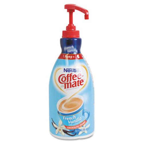Coffee-mate Liquid Coffee Creamer, French Vanilla, 1500mL Pump Bottle (NES31803)
