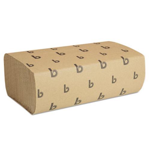 Boardwalk Multifold Paper Towels  Natural  9 x 9 9 20  250 Pack  16 Packs Carton (BWK 6202)