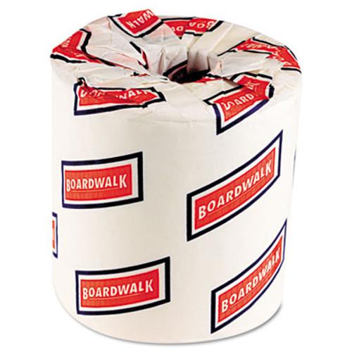 Boardwalk Two-Ply Toilet Tissue, White, 4 1/2 x 3 Sheet, 500 Sheets/Roll, 96 Rolls/Carton (BWK 6180)