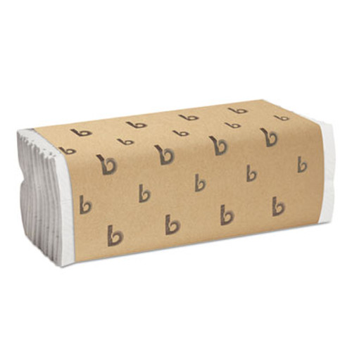 Boardwalk C-Fold Paper Towels, Bleached White, 200 Sheets/Pack, 12 Packs/Carton (BWK 6220)