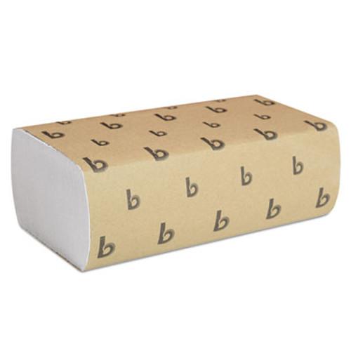 Boardwalk Multifold Paper Towels  White  9 x 9 9 20  250 Towels Pack  16 Packs Carton (BWK 6200)