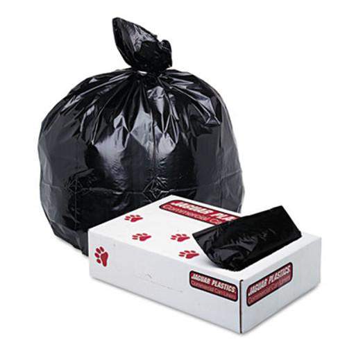 Jaguar Plastics Low-Density Commercial Can Liner, 33gal, 1.7mil, Black, 150/Carton (JAG G3339HBL)