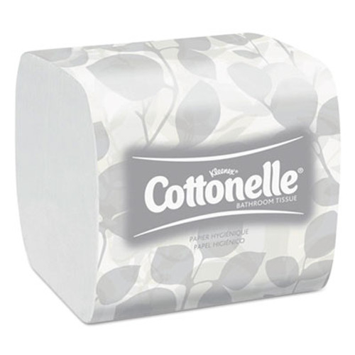 Scott Control Hygienic Bath Tissue  Septic Safe  2-Ply  White  250 Pack  36 Packs Carton (KCC 48280)