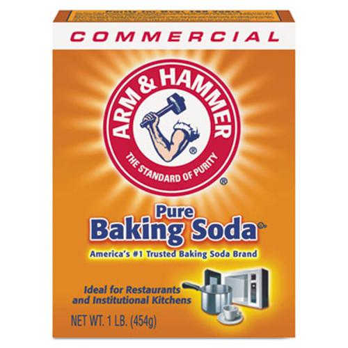 Arm & Hammer Baking Soda  1 lb Box  24 Carton (CDC 33200-84104)