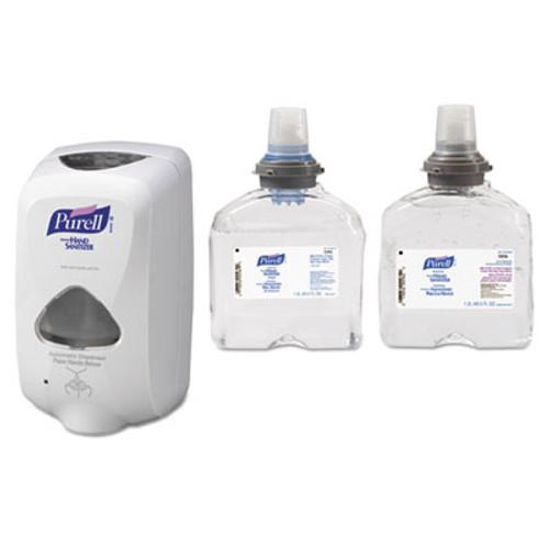 PURELL TFX Touch Free Dispenser  1200 mL  6 5  x 4 5  x 10 58   Dove Gray (GOJ 2720-12)