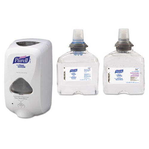 PURELL TFX Touch Free Dispenser  1200 mL  6 5  x 4 5  x 10 58   Dove Gray (GOJ 2720-12)