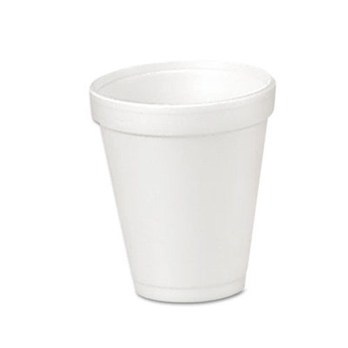 Dart Foam Drink Cups  4oz  25 Bag  40 Bags Carton (DCC 4J4)