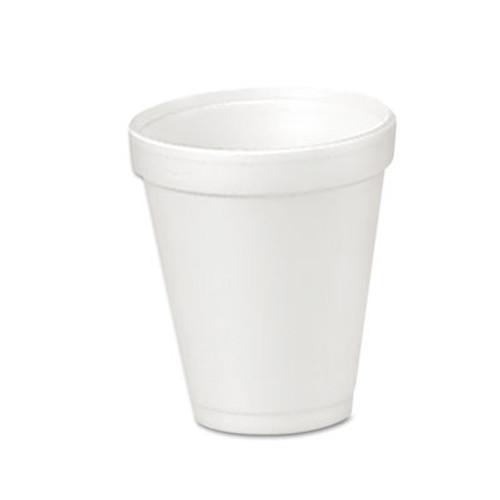 Dart Foam Drink Cups  4oz  25 Bag  40 Bags Carton (DCC 4J4)
