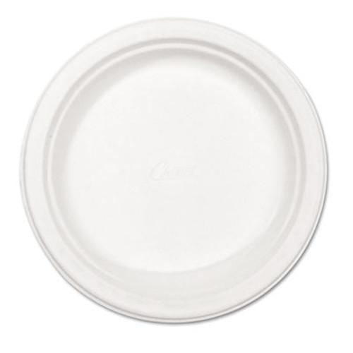 Chinet Paper Dinnerware  Plate  8 3 4  dia  White  500 Carton (HUH VERDICT)