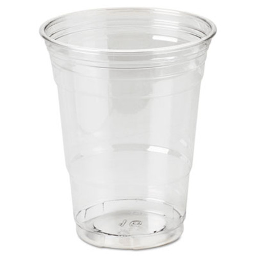 Dixie Clear Plastic PETE Cups, Cold, 16oz, WiseSize, 25/Pack, 20 Packs/Carton (DIX CP16DX)